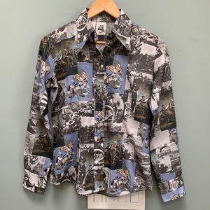Kennington Vintage Walt Disney Civil War Shirt
